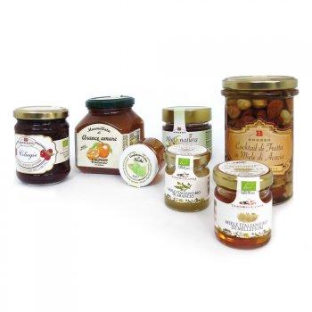 Marmalades, jams and honey